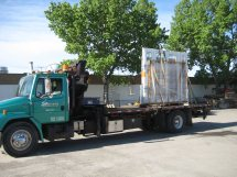 Transporting Innotech windows and doors
